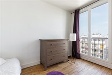 Luxurious, fully furnished 2 bedroom flat for rent for 4 people, metro Mairie d'Issy at Issy Les Moulineaux