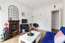 Monthly apartment rental for 2 to 3 guests on rue Louis Braille at Daumesnil in Paris 12th