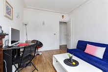Holiday rental for 2 or 3 people in Paris near metro at Daumesnil in 12th Arrondissement