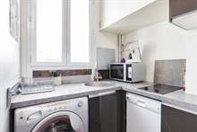 Romantic getaway in short term apartment for rent near metro at Daumesnil in balcony, Paris 12th