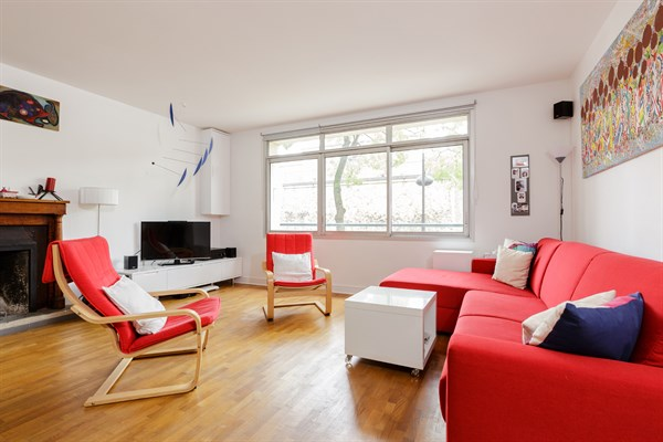Bel appartement moderne de 3 chambres avec terrasse à alésia paris 14ème