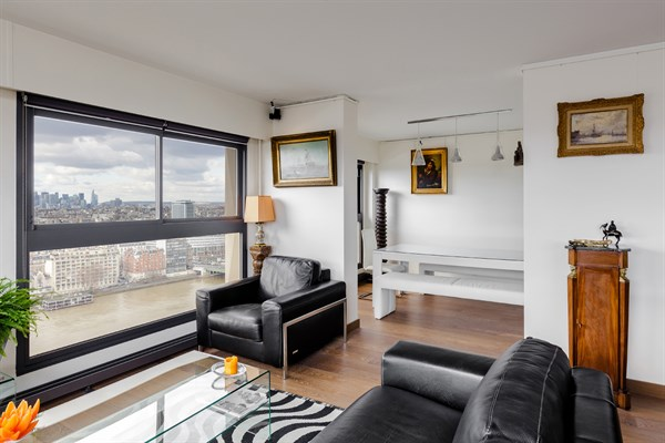 Le beaugrenelle immense appartement de 2 pi ces design avec vue panoramique javel paris - Location meublee paris 15 ...