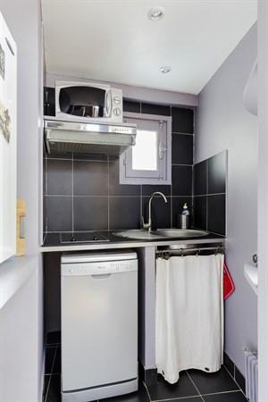 Ma tre albert spacieux studio pour 2 coeur du quartier - Location meuble paris e arrondissement ...