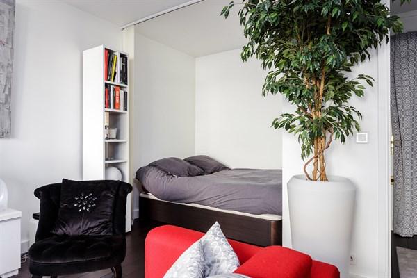 L 39 alc ve studio design pour 2 personnes avec balcon am nag montparnasse paris 15 me my - Location meublee temporaire paris ...
