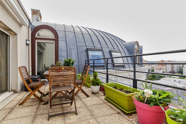 Le montrouge appartement moderne de 2 chambres avec superbe terrasse montrouge my paris agency - Location meublee la reunion ...