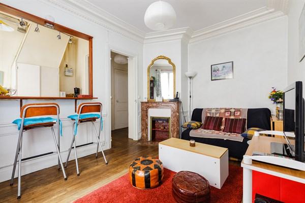 Dalida bel appartement de 2 pi ces pour 4 deux pas de for Appartement paris location