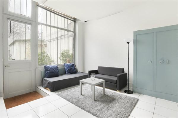 Le dormoy studio agr able pour 2 deux pas de la butte for Acheter un loft a paris
