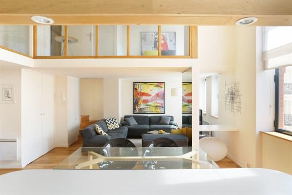 Laugier duplex atypique et moderne de 84 m2 avec 2 for Chambre a louer paris 17