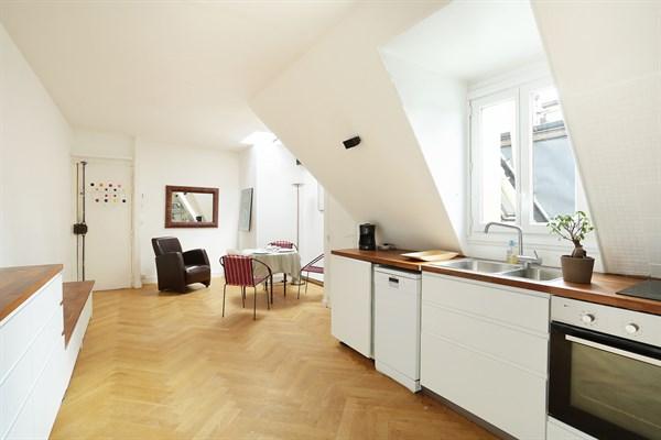 poussin superbe appartement de 2 pi ces moderne pour 2 dans le village d 39 auteuil paris 16 me. Black Bedroom Furniture Sets. Home Design Ideas