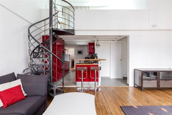Duplex 13 magnifique duplex de 2 chambres pour 6 - Location chambre paris courte duree ...