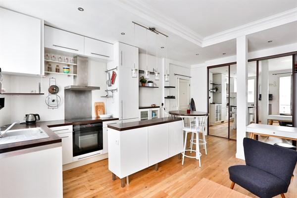le mont cenis superbe appartement de 2 pi ces pour 3 montmartre jules joffrin paris 18 me. Black Bedroom Furniture Sets. Home Design Ideas