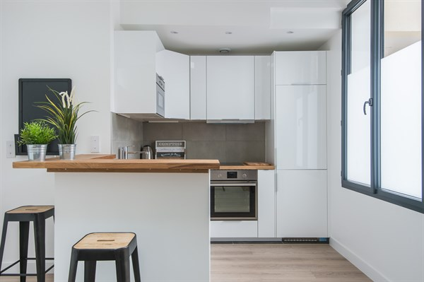 L 39 industriel spacieux loft au style factory avec 2 - Location chambre paris courte duree ...