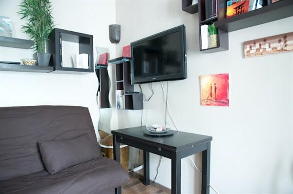 Les epinettes agr able 2 pi ces pour 2 louer en meubl for Location meuble paris 17