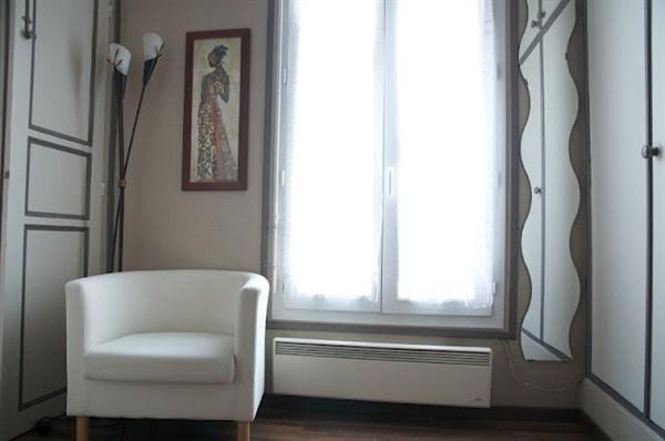 Les epinettes agr able 2 pi ces pour 2 louer en meubl for Location meuble courte duree paris