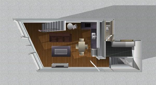 Faubourg saint honor superbe 2 pi ces louer en courte for Location appartement meuble courte duree