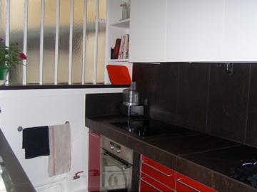 Jourdain superbe loft de luxe louer meubl en courte for Louer meuble paris