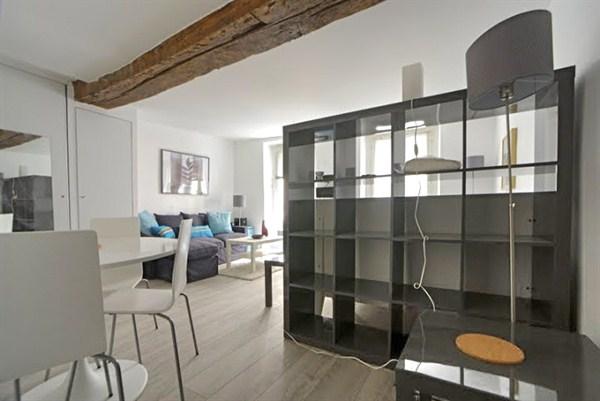 Le luxembourg grand studio l 39 allure cosy pour 4 au for Location meuble courte duree paris