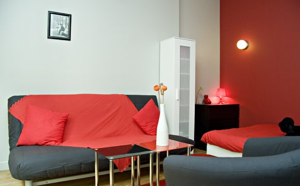 Le latin appartement atypique de 2 pi ces situ rue - Location meuble paris e arrondissement ...