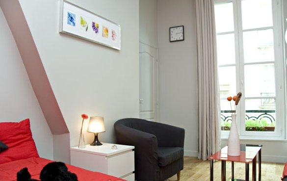 Le latin appartement atypique de 2 pi ces situ rue - Louer son appartement meuble a la semaine ...