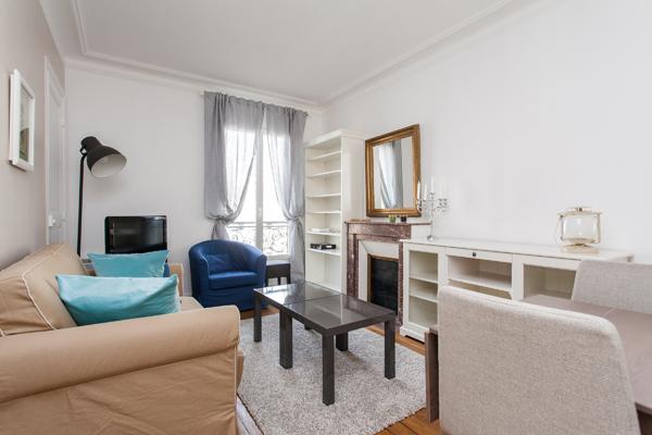 Les princes appartement familial pour 6 avec 2 chambres for Location meublee paris longue duree