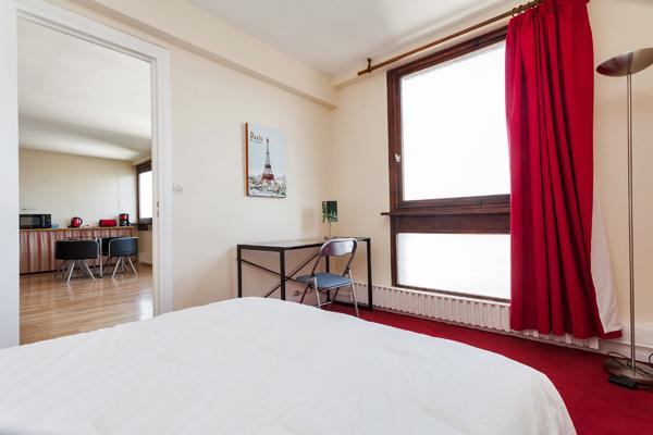 Odessa splendide appartement de 2 pi ces au pied de la for Location meuble courte duree paris