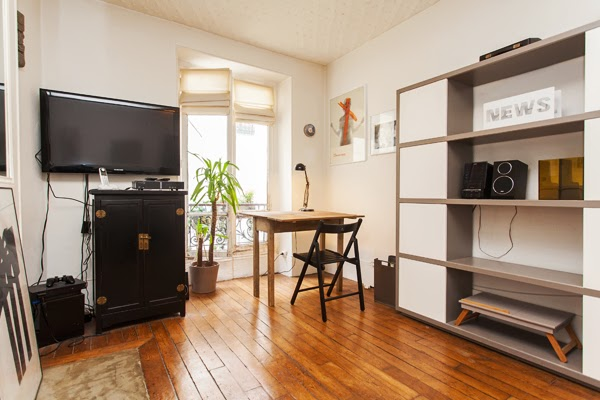 Jaur s grand studio pour 2 boulevard de la villette - Appartement meuble paris courte duree ...