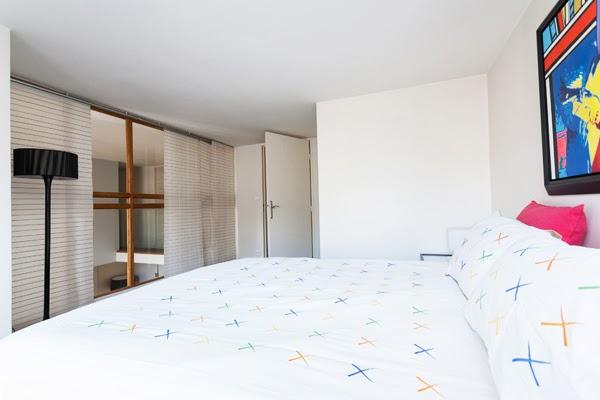 Laugier duplex atypique et moderne de 100 m2 avec 2 for Chambre a louer paris 17