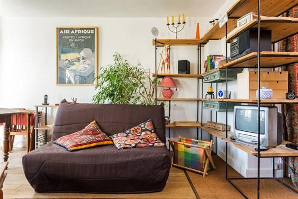 Le richard lenoir grand studio meubl pour 4 oberkampf - Location appartement meuble paris courte duree pas cher ...