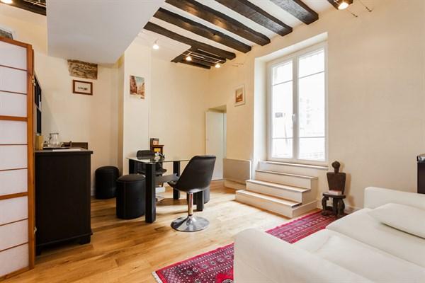 le panth on spacieux studio de 40 m deux pas du panth on paris v my paris agency. Black Bedroom Furniture Sets. Home Design Ideas