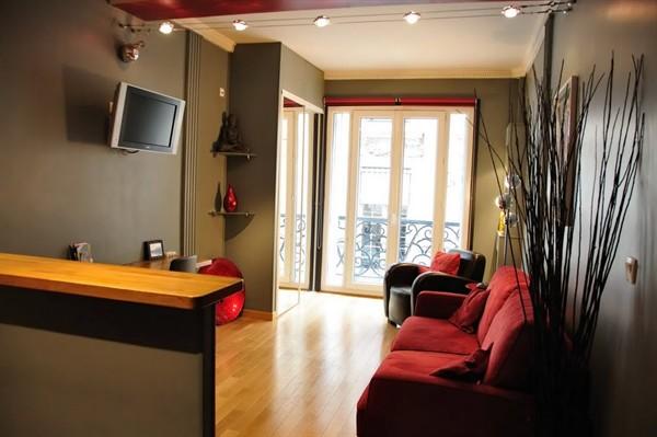 Madeleine grand studio louer en courte dur e la - Louer son appartement meuble a la semaine ...