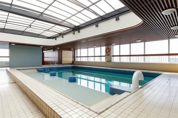 Emeriau studio avec vue panoramique dans un immeuble for Appartement avec piscine paris