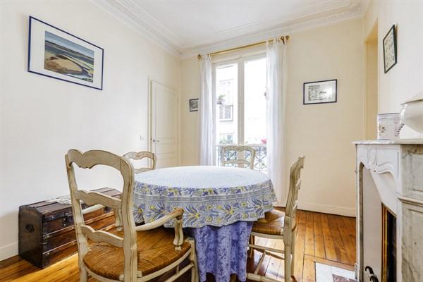 Le necker spacieux appartement de 3 pi ces la d coration raffin e montparnasse paris - Location meublee paris 15 ...