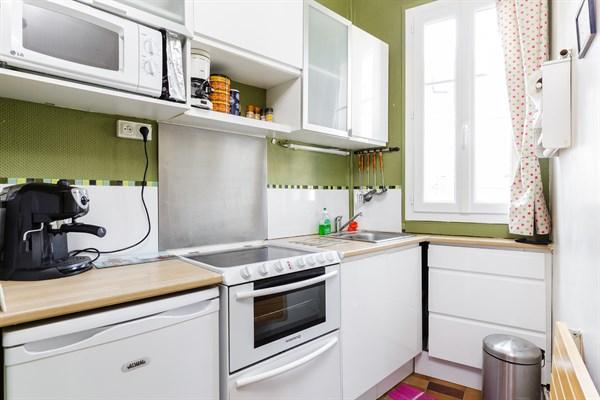 Eiffel splendide appartement de 2 chambres avec balcon filant montparnasse paris 15 me my - Location meublee temporaire paris ...