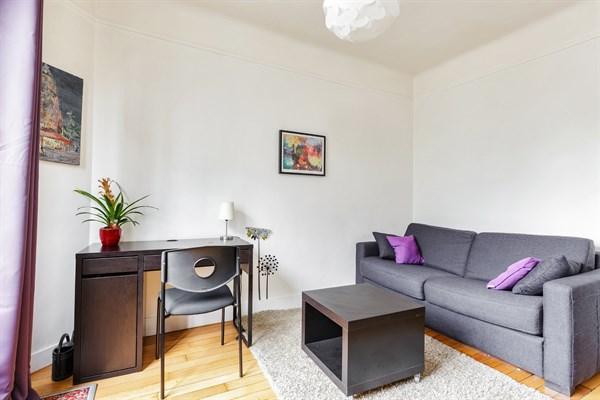 Labrouste superbe studio lumineux r cemment refait - Appartement meuble paris courte duree ...