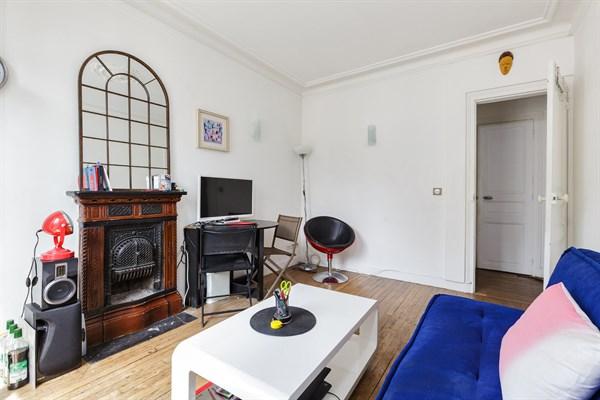Bel air bel appartement de 2 pi ces avec balcon filant for Appartement avec balcon paris
