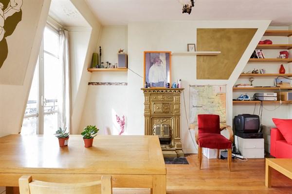 Les bluets superbe appartement de 2 pi ces pour 4 dans le quartier de m nilmontant paris 11 me - Location meublee temporaire paris ...