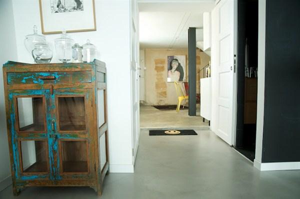 Turenne appartamento unico nel suo genere di 2 piani for Piani di appartamenti stretti