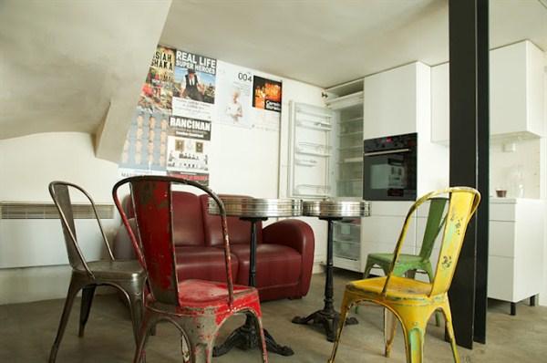 Turenne appartamento unico nel suo genere di 2 piani for Appartamento con 3 camere da letto nel seminterrato