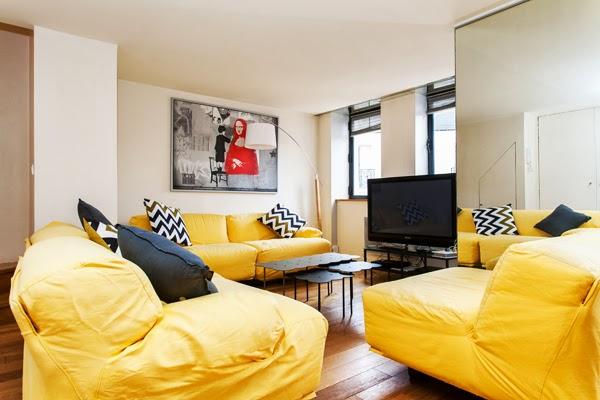 Laugier appartamento moderno e raffinato di 100 m2 con 2 for Appartamento con 2 camere da letto