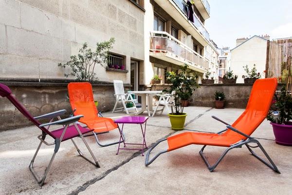 Chaligny superbo alloggio di due stanze con terrazza a for Appartamenti in affitto amsterdam centro