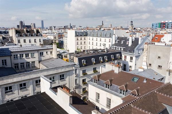 Les rosiers studio moderno con balcone filante e vista imperdibile nei marais iii - Casa vacanza a parigi ...