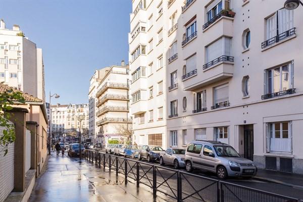 Exelmans appartamento di 2 stanze dal design moderno nel for Quartiere moderno parigi