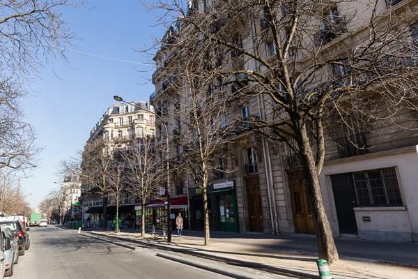 Le necker raffinato appartamento di 3 stanze dal design for Quartiere moderno parigi